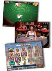 Blackjack, live casino och slots