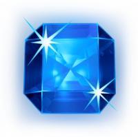 blå ädelsten